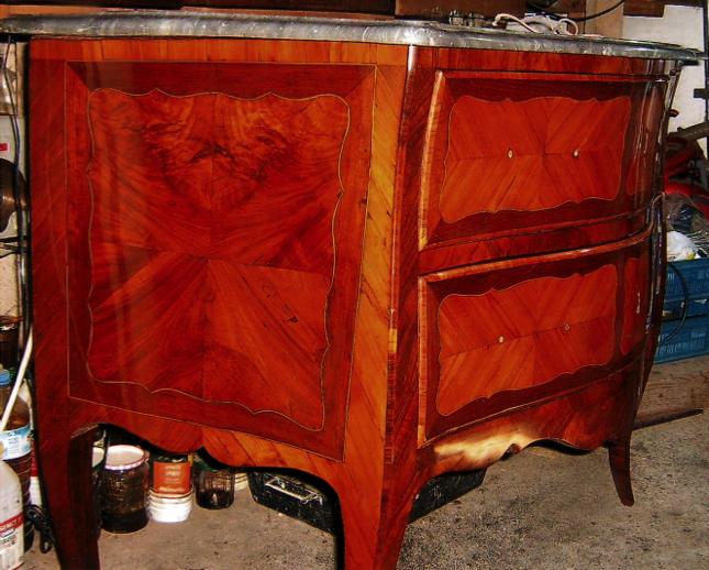 Restauration commode de style, restauration meuble ancien montpellier # Restauration Meuble Ancien Bois